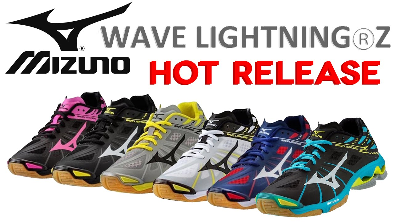 Lightning Hot Shoes Volleyball Release Mizuno Women's Wave Z AT5865