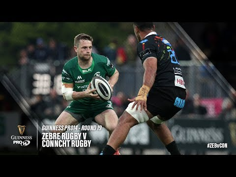 Guinness PRO14 Round 19 Highlights: Zebre Rugby v Connacht Rugby