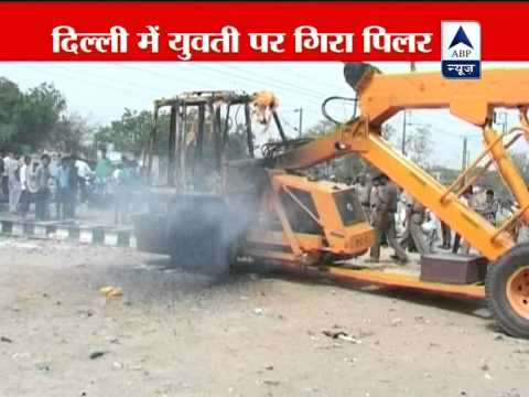 Delhi: Woman hit by iron pillar dies at hospital