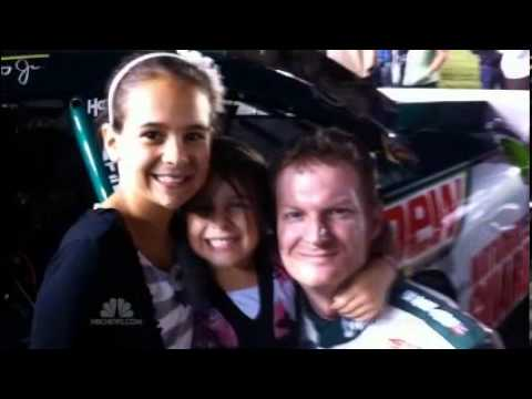Karsyn Elledge, granddaughter of Dale Earnhardt, cannot resist speed
