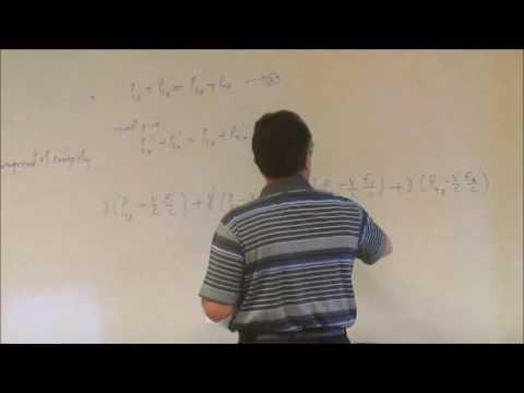 Lecture 16 - Relativistic Mechanics - Mass Energy Relation
