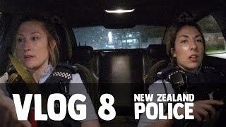 New Zealand Police Vlog 8: Night Shift Ride Along!