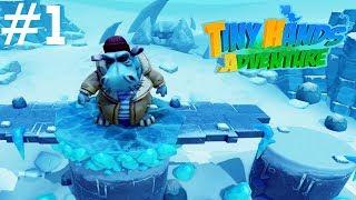 Tiny Hands Adventure (01) — Ciekawa platformówka