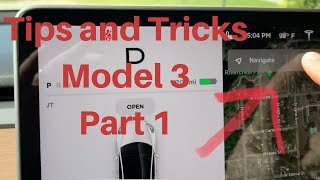Tips and Tricks Tesla Model 3! Part 1
