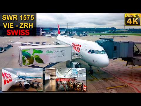 TRIP REPORT | Vienna - Zürich | SWISS A321