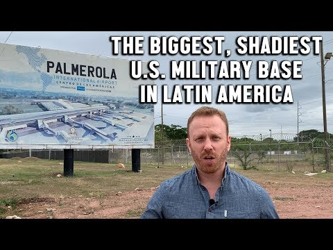 Max Blumenthal drops by the largest US military base in Latin America
