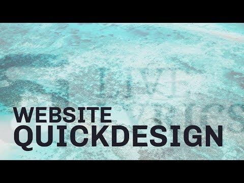 Website Quickdesign - Live Lyrics - Website In HTML & CSS