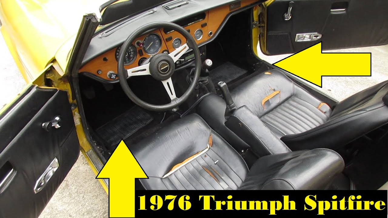Fully Carpeting Triumph Spitfire 1500 Youtube