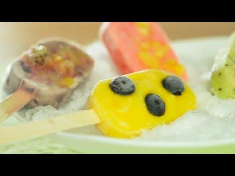 """Heladitos de yogurt y frutas de estación"""" ¡Para agasajar a los más chiquitos! - YouTube"""