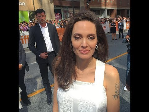 Angelina Jolie goes to The Breadwinner premiere at the Toronto Film Festival