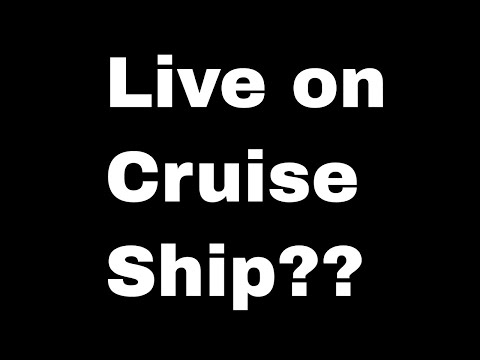Live On A Crypto Cruise Ship! What?