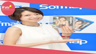 女優中村静香(29)が13日、都内で、DVD「恋する静香」の発売記...