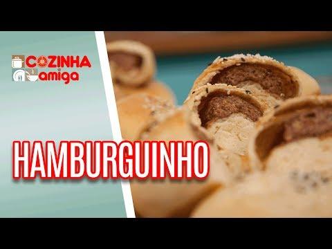 Hamburguinho Recheado - Gabriel Barone | Cozinha Amiga (05/06/18)