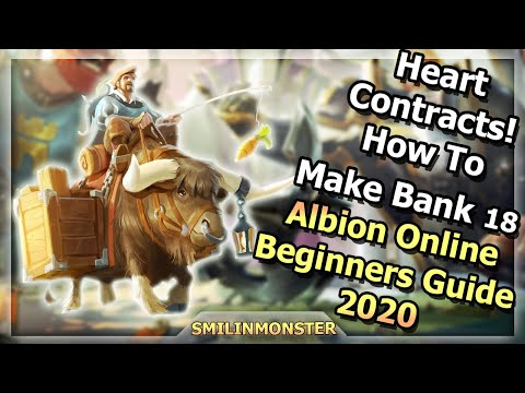 Heart Contracts!    💰💸 How To Make Bank 18  💸💰    Albion Online Beginners Guide 2020