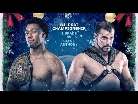 Steve Anthony vs J. Spade For The Wildkat Sports Heavyweight Championship