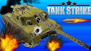 TANK STRIKE#11 Новый онлайн мультик Война танков много оружия новых танков Видео для детей.