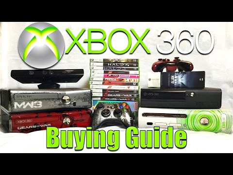 XBOX 360 BUYING GUIDE & Great Games w/ Barnacules