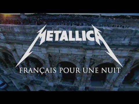 Metallica   Nimes 2009 François pour une nuit INTRO
