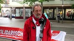 Eine ungehaltene Rede, eines ungehaltenen Gewerkschafters!  #Gießen