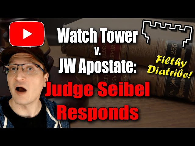 """Judge Responds to JW Apostate's """"Spicy"""" Motion to Quash"""