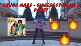 Bruno Mars - Finesse (Remix) Feat. Cardi B Dance