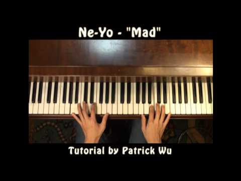 How To Play NeYo  Mad On Piano  Tutorial & Lesson