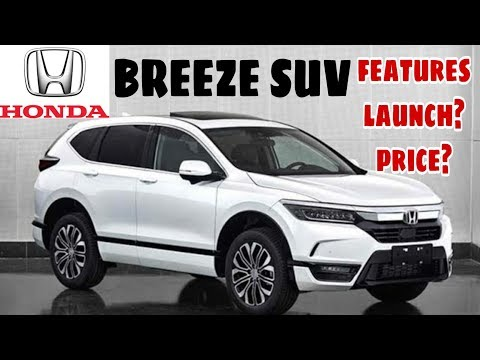 Honda Breeze SUV Copy of CR-V Launch Date, Price, Features, Engine   Upcoming SUV in India 2020
