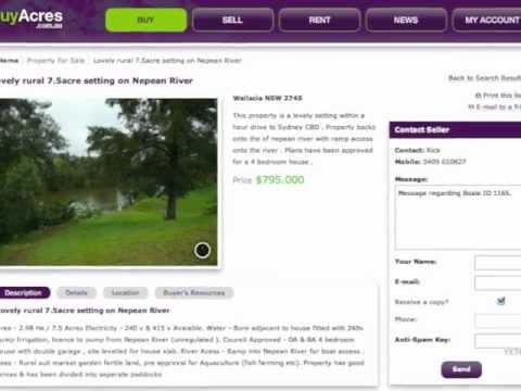 Acreages For Sale Jan 2012