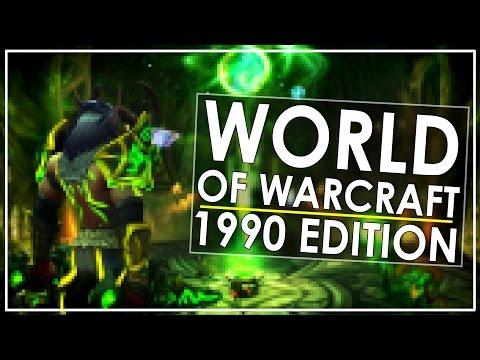 World of Warcraft: 1990s Retro Edition