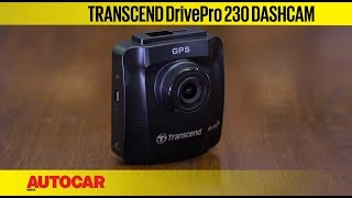 Transcend DrivePro 230 Dashcam   Unboxing, Installation & Review   Autocar India