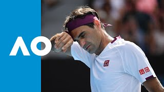 Roger Federer saves 7 match points, takes the fourth set