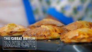 How to fill and bake pork pies with Paul Hollywood / The Great British Bake Off