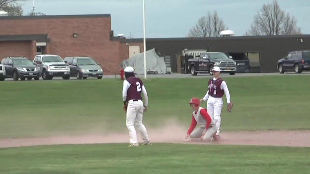 NCCS - Saranac Lake Baseball  5-16-16