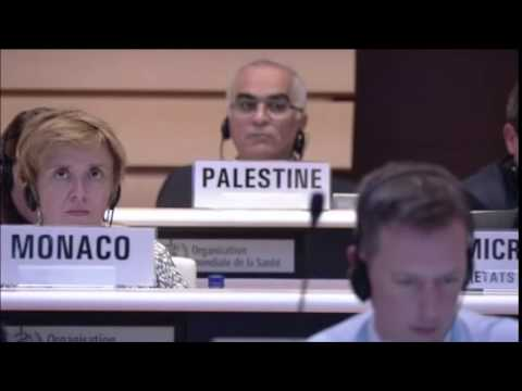 "Micronesia votes ""No"", takes stand against singling out Israel at UN's 2016 World Health Assembly"