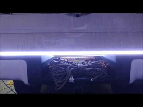 OPT7 Redline TRIPLE LED Tailgate Light Bar on 2012 F-150 on