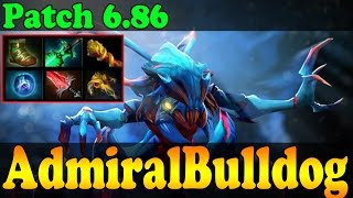 Dota 2 - Patch 6.86 : AdmiralBulldog Plays Weaver Vol 3 - Ranked Match Gameplay!