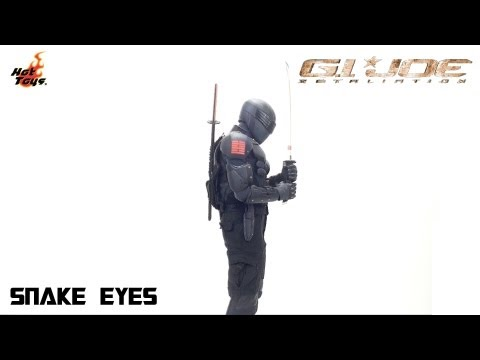 Video Review of the Hot Toys G.I. Joe: Retaliation: Snake Eyes