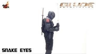 Video Review of the Hot Toys G.I. Joe: Retaliation: Snake Eyes