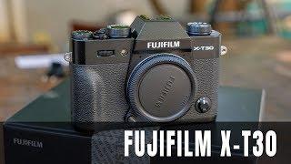 Mở hộp Fujifilm X-T30