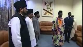 Le Calife rencontre le Président