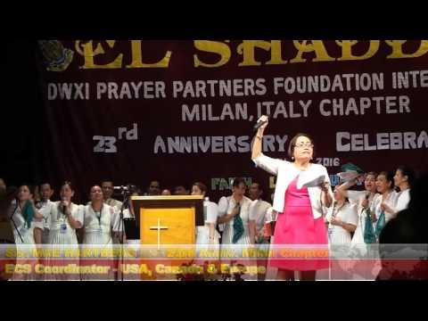 23rd Anniversary Milan Chapter - Sis. Mae HARTBERG