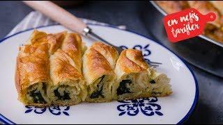 El Açması Tadında Ispanaklı Unlu Börek Nasıl Yapılır? Hazır Yufkadan Pratik Ispanaklı Börek Tarifi