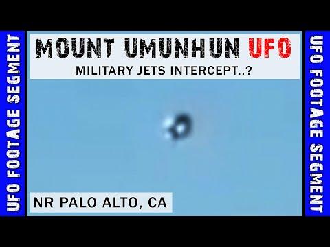 UFO SIGHTING VIDEO • Military Jets in Intercept..? • Mt Umunhun CA