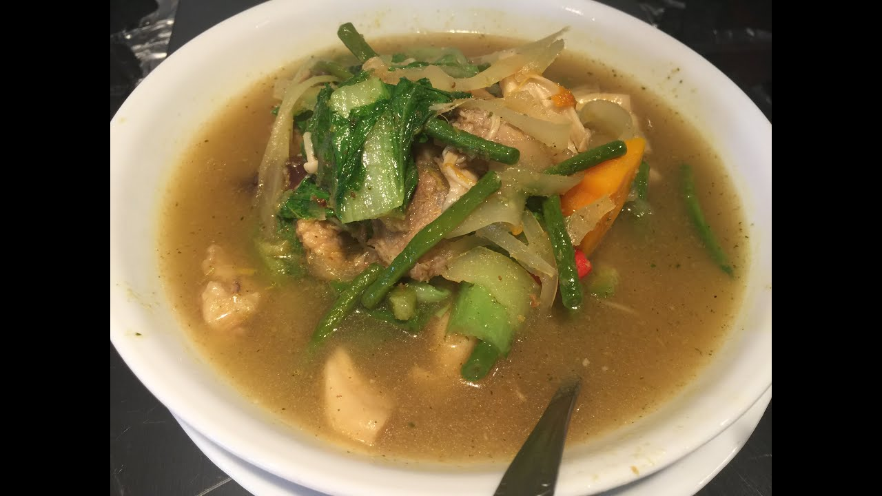 Somlor Koko Khmer Soup Youtube