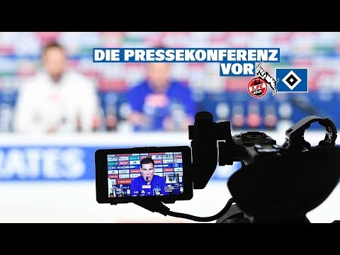 RELIVE: Die Pressekonferenz vor dem Spiel gegen den 1. FC Köln