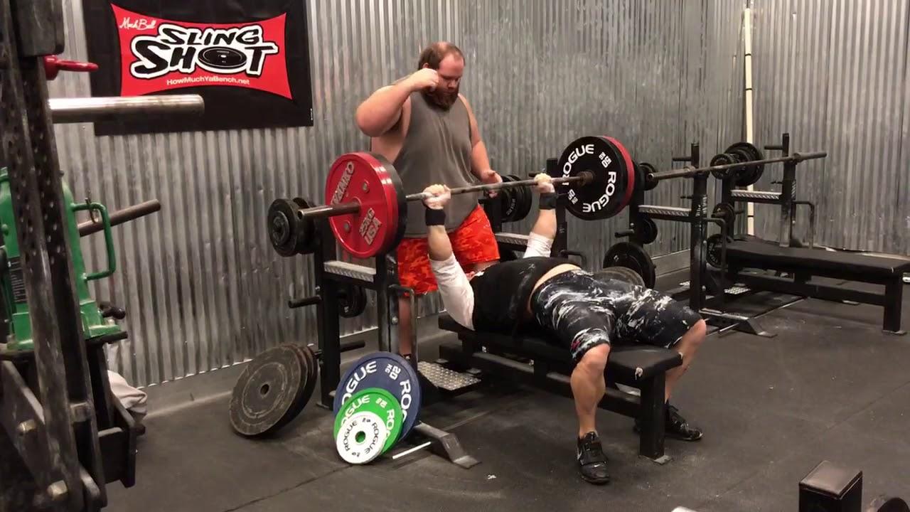 4221d070a6 Check Out Pete Rubish's Latest 220kg Bench Press PR - BarBend