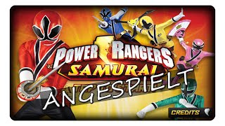 POWER RANGER SAMURAI STEEL || Angespielt | Deutsch | German