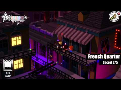 Costume Quest 2 | Lower Bayou & French Quarter | Costume Pieces & Secrets