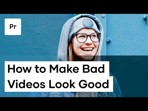 How To Make Bad Videos Look Good | Premiere Pro Tutorial