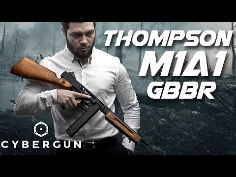 Cybergun WE Thompson M1A1 2017's Biggest Surprise - RedWolf Airsoft RWTV